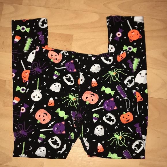 toddler halloween leggings